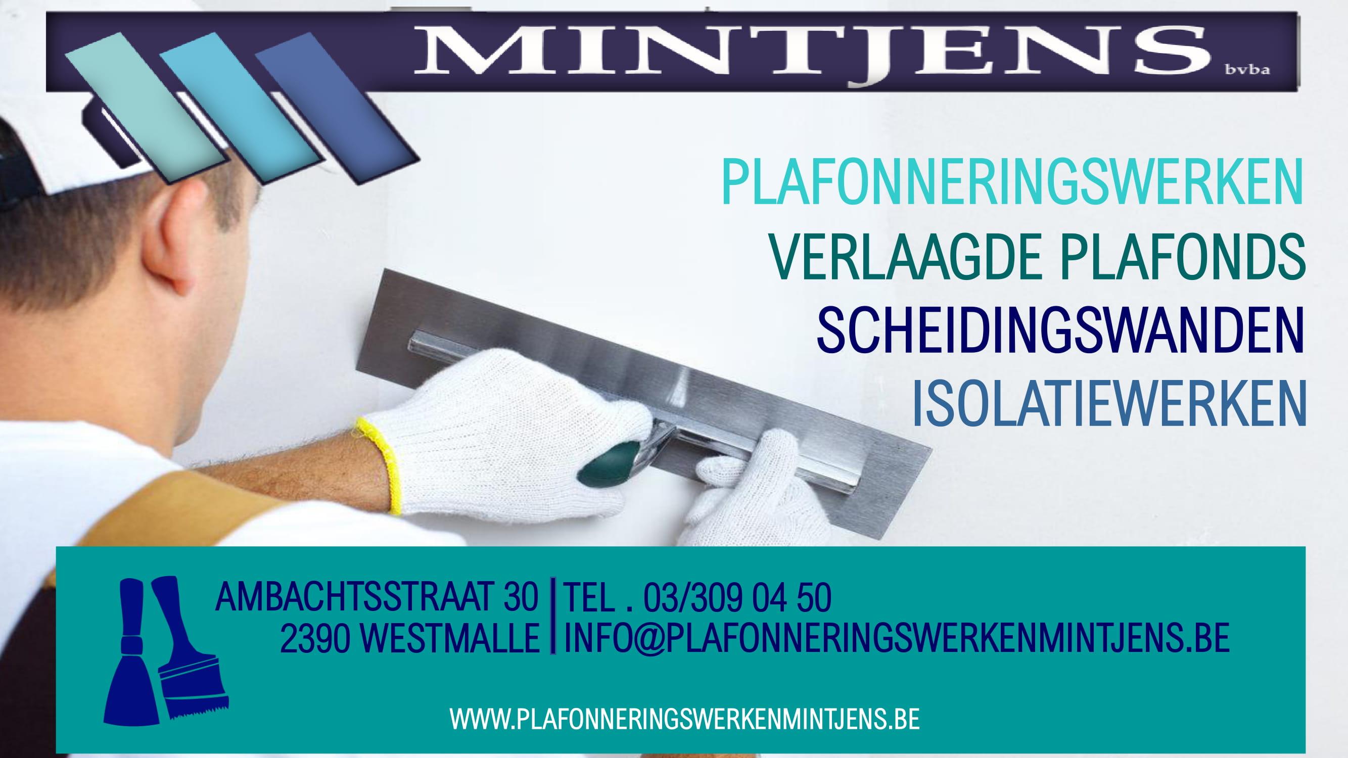 Plafonneringswerken Mintjens
